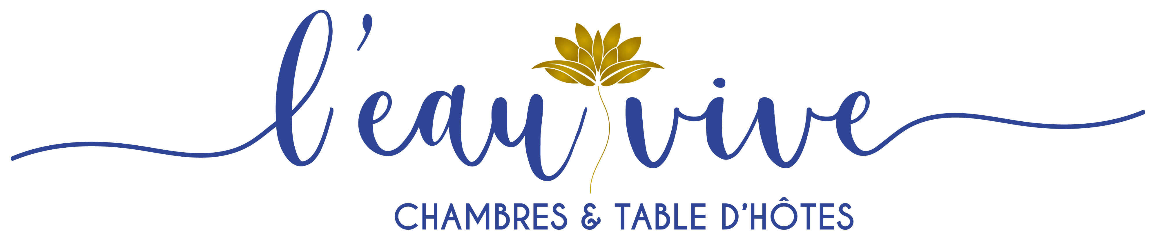 L'eau vive Logo